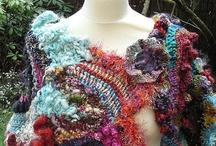 Mes créations / freeform , crochet, patchwork,couture