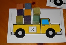 Class Work Ideas - Numeracy / Ideas to improve numeracy, number and quantity recognition and basic maths skills in the Montessori 3-6 classroom.
