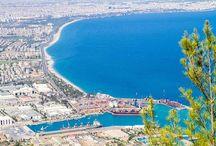 Antalya / hotspots in Antalya, Turkey