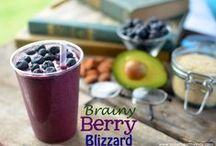 Smoothies / Healthy, delicious smoothies to help your kids eat (drink) more fruits and veggies.