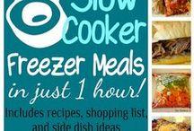 Freezer meals / by Amy Weldon