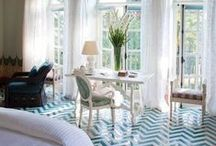Homes and Living. / Inspiration for outfitting our home lives: Houses, Art, Entertaining and DIY.