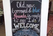 Bridal shower!!  / by Amanda Parise