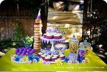 zoey's 3rd birthday - Rapunzel