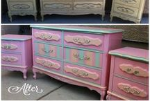 Painted and Upcycled Furniture / by Sheila Jensen