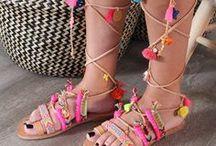 Liza's Little Things Sandals / Handmade sandals made in Greece by Liza's Little Things