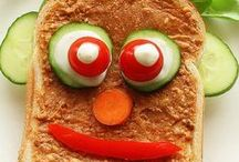 Sandwiches and Wraps / Fun, creative, and healthy sandwiches to mix it up for your kids lunches!