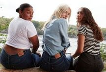 Ladies In Levi's / Behind every great woman is a great pair of jeans.