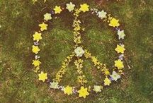#BeHippie / Be a Hippie! Peace, Love and Light!