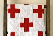 QUILTS: Simple Designs / bold lines, simple shapes, great colors, simple quilt designs
