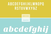 ART: Typography / Good fonts, lots of great fonts to use for graphic design, blogging, printables or art