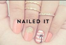 { nailed it } / The most fabulous nail colors and designs we can find. / by Indie Lee