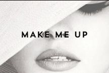 { make me up } / From cat-eyes to red lips, this is where we find daily inspiration. / by Indie Lee