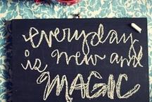 words / by Zana Lokmer Design