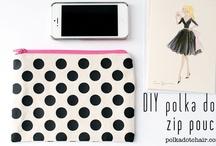 Inspiration: polka dots! / Cause polka dots are cool / by Melissa | Polka Dot Chair