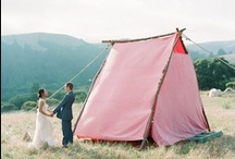 Camping-themed Parties and Weddings / Camping party ideas for kids and adults...