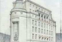 Architectural Drawings / by Danelle Knapp