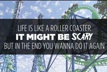 Words to Thrill By / Quotes about the joys of theme parks