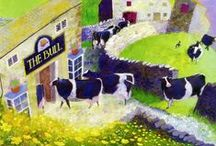 Colin Smithson / Greeting cards by North Yorkshire painter and illustrator Colin Smithson.  / by Art Cove Greeting Cards and Blog