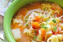 Soups and Stews / Homemade soup recipes -- Hearty or light, but always warm and comforting, these are the best soups on Pinterest!