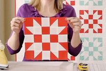 Ideas: Quilt Blocks / Free tutorials for a variety of Quilt Blocks both modern and traditional / by Melissa | Polka Dot Chair