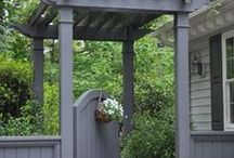 Home - Outdoor Structures / Gates, Arbors and Potting Sheds / by Beverly Austin