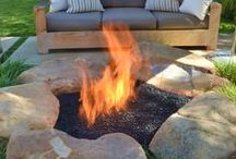Home - Outdoor Patio & Fireplace Designs / Overall Outdoor Patio Designs, some with Fireplaces & Water Features / by Beverly Austin