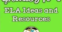 ELA Ideas and Resources Grades K-6 / Awesome teaching ideas focused on teaching ELA. Pinners: Please pin 2 ideas/freebies for every paid product! To join please comment on one of the pins with your request.