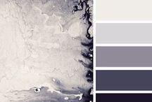 Color Schemes / #Farben #Farbtöne #Farbharmonien #Farbnuancen #Farbgebung