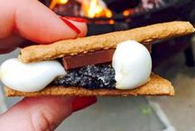 Camping Desserts / A camping trip isn't complete without s'mores - or more!
