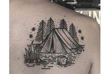 Camping Tattoos