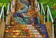 amazing stairs / escaleras asombrosas / Diseño y originalidad a la orden de las escalera. #diseño #original #escalera #stair #staircase #diseño #design