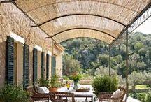 decorate terrace / decora terraza / Inspiración para decorar terrazas y balcones - balcones terrazas diy, espacios exteriores decoración, terrazas y balcones decoración