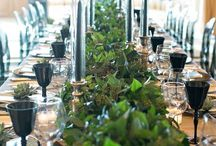 Fashionably green style Wedding / A selection of wedding ideas for the green fingered ones