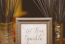 DIY wedding touches / Selection of make it at home decorations for stylish weddings
