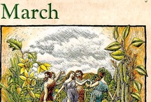 Ostara - Easter - March / Ostara or Ēostre was a Goddess in Germanic paganism whose Germanic month has given its name to the festival of Easter 21 March NorthHem-21 SeptSouthHem. Ostara is one of the eight festivals held by Wiccans every year. It is normally held at the time of the vernal equinox, around 21 March in the Northern Hemisphere and 21 September in the Southern Hemisphere. Ostara is sacred to Eostre, the Ancient Goddess of fertility, (from whence we get the word estrogen).