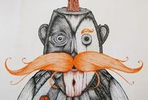 Duane Hosein, illustrator extraordinaire / Drawings and art by local artist. / by Abode New York