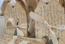 Tag~~You're it! / I adore tags ~~ They can be simple to ornate ~~ time saving or time consuming. / by Catherine Gelaude