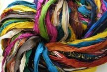 sari ribbon / by Susan Shaw