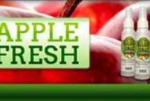 Our Products / Our products (Veggie Crisp & Clean, Apple Fresh, and Spud Savor) improve the shelf life of fresh produce, including vegetables, fruits and baked or processed potatoes.