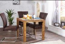 Esstische / Hier finden Sie Tische in allen erdenklichen Formen und Größen und aus den verschiedensten Materialien. Bei Riess Ambiente finden Sie stilvolle, moderne oder klassische Tische. Ob aus Glas, Metall oder Holz - der Tisch ist der Mittelpunkt der Küche oder des Esszimmers an dem Sie oft stundenlang mit der Familie oder Freunden zusammensitzen. Hier finden Sie garantiert den richtigen Tisch zu einem günstigem Preis.