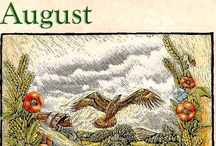 Lughnassadh - Lammas - August / August 1 (in northern hemisphere) is Lammas Day, often called Lughnasadh, after the god Lugh, celebrating the first harvest and the reaping of grain. It is a cross-quarter holiday halfway between the Summer Solstice (Litha) and the Autumnal Equinox (Mabon).