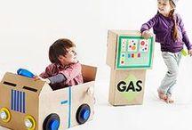 Paper Roll / Egg carton / Cardboard / Coffee Filter Fun