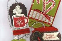 Christmas Tags & Trimmings / by Stamptastic Designs