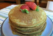 Breakfast Foods / It's what's for breakfast: oatmeal, pancakes, eggs, etc.