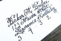 Calligraphy / Modern calligraphy practice  / by Crystal Layland