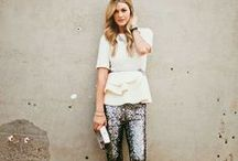 Moda - fashion street style / Fashion and street style inspiration