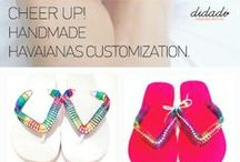 Havaianas by Didadi / #Havaianas #handame #costumize  Your Colour, Your Taste!! #Didadi