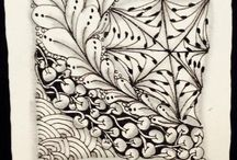 Zentangle Art / Zentangle, pattern drawing art form developed by Rick Roberts and Maria Thomas.