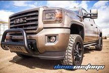 Lifted GMC Trucks / Lifted GMC Trucks by Davis Customs.